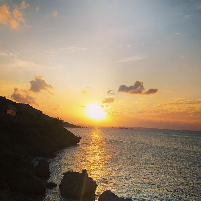 #sunset #okinawa #伊計島 #夕日